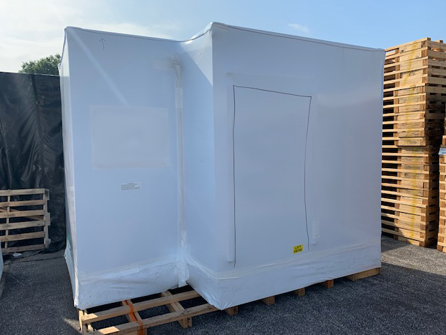 Transhield_protection for modular building units